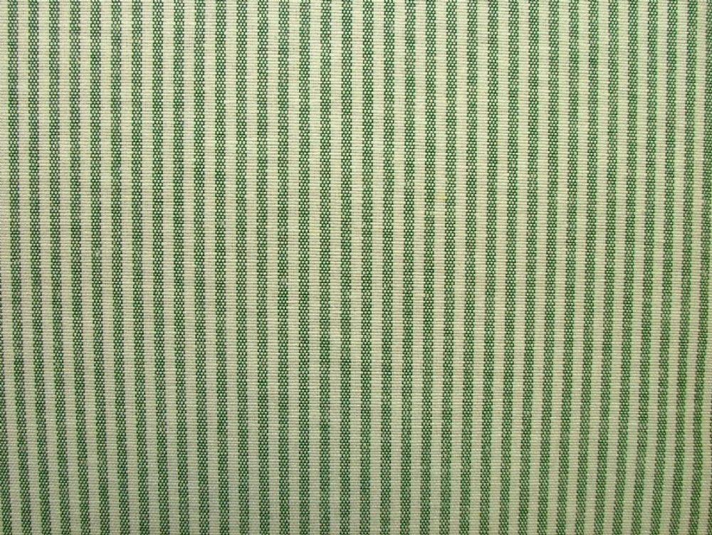 Prestigious Textiles Christmas D Green Ticking Curtain Soft Furnishing Fabric